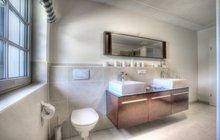 Badezimmer Ferienwohnung Allgäu
