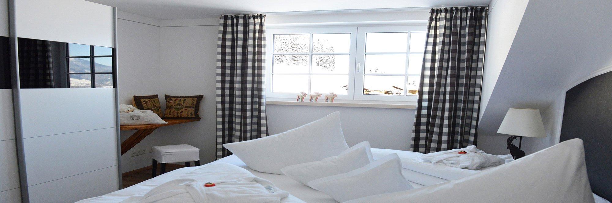 Wohnbereich in der Ferienwohnung AlpenLodge Allgäu