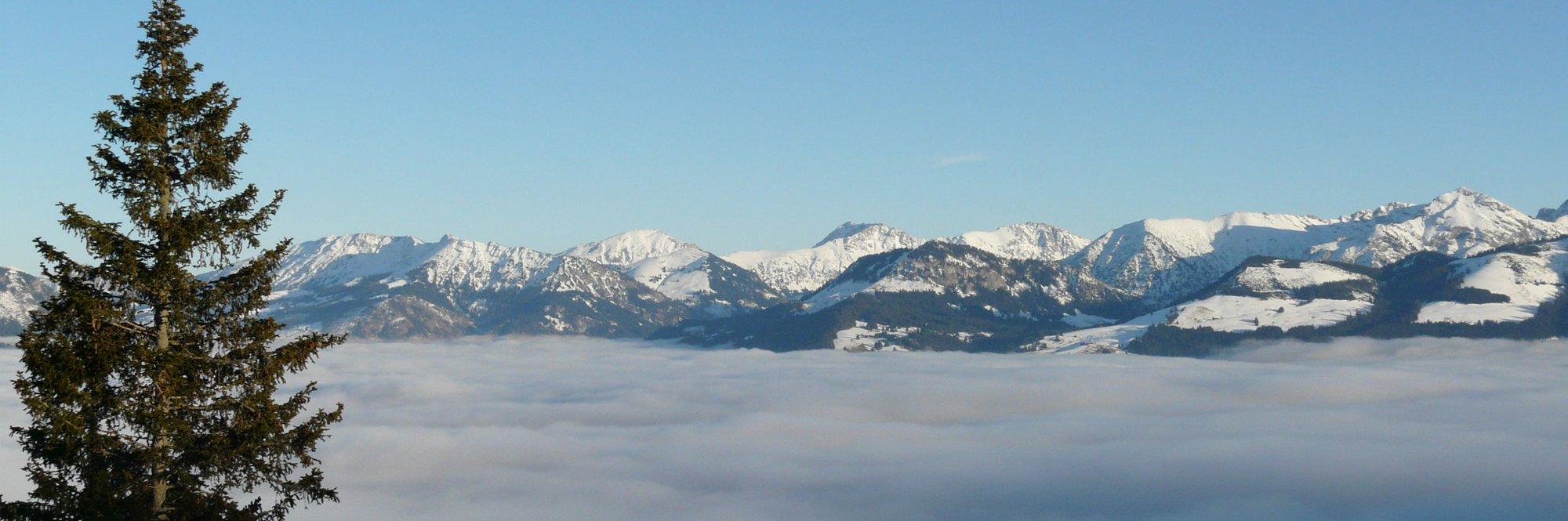 Schneeschuhwandern inm Allgäu