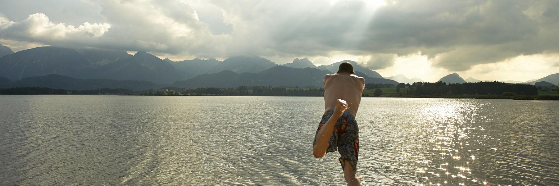 Badeurlaub im Allgäu